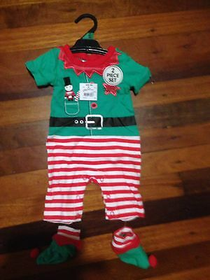 Sz 00 Christmas Outfit