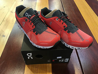 ON Cloud Coral/Shadow Womens Running Shoes