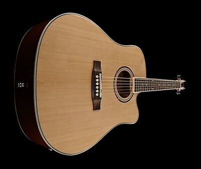 Harley Benton D120Ce Nt Electro Acoustic Guitar
