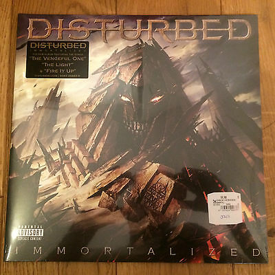 Disturbed ‎– Immortalized - Reprise Records ‎– 550136-1 - DLP - New Sealed
