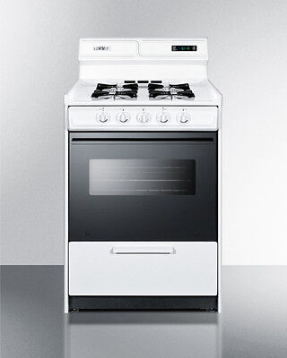 Summit Apartment Size Gas Oven WNM6307DK