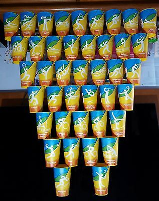 Complete Collection of Olympic Cups Rio 2016 - BRAND-NEW 41 Cups