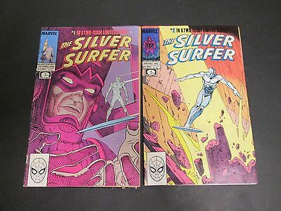 Moebius The Silver Surfer T 1 Et 2 Eo Americaine 1988 Tbe