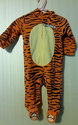 New Baby Tigger Halloween infant costume onesie 3/6 months