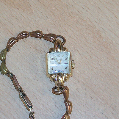 """Lady's """"crescent"""" Watch - Made In England"""