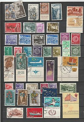 Used stamps from Israel 1
