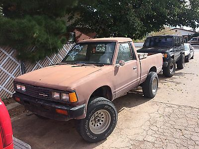 1985 Nissan Other Pickups single cab 85 nissan 720 4x4