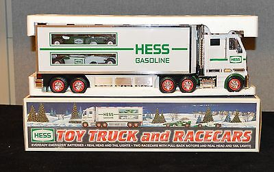 2003 Hess Truck and Racecars