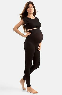 NEW BLANQI 'High Performance' Maternity Belly Lift & Support Leggings-Black-M