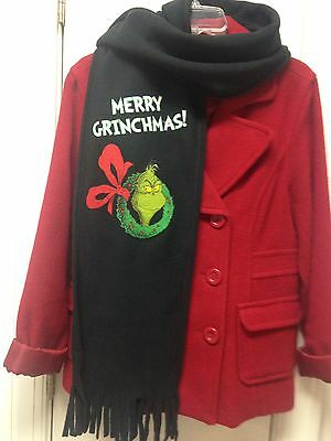 Dr Seuss How the Grinch Stole Christmas Scarf