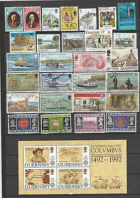 Used stamps from Guernsey