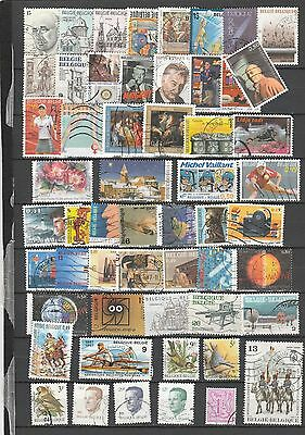 Used stamps from Belgium 3