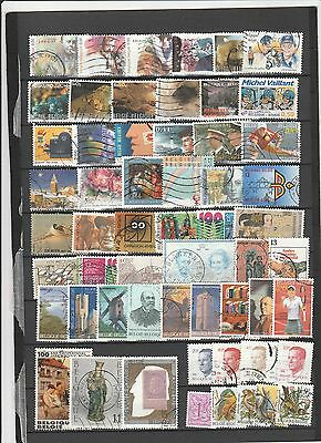 Used stamps from Belgium 4