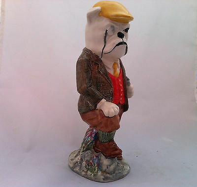 Kevin Francis BULLDOG SQUIRE Character Toby Jug Figurine №1 of 350