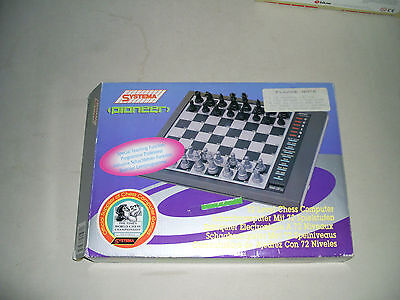 Vintage electronic computer chess - systema PIONEER - Complete