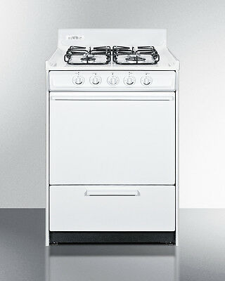 Summit Apartment Size Gas Oven, WNM6107S