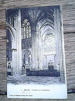 Carte Postale Cathedrale De Troyes