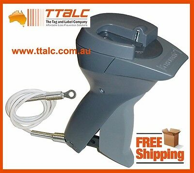 Sensormatic Supertag Handheld Security Tag Detacher Remover MK225-1 ABN Required
