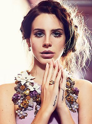 Four Lana Del Rey 4x6 Inch Glossy Photos Vogue Australia