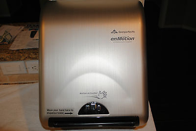 NEW 59466 Automated Touchless Towel Dispenser Stainless Retails: $319.00