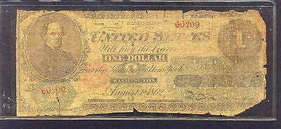 cool CONTEMPORARY COUNTERFEIT 1862 $1