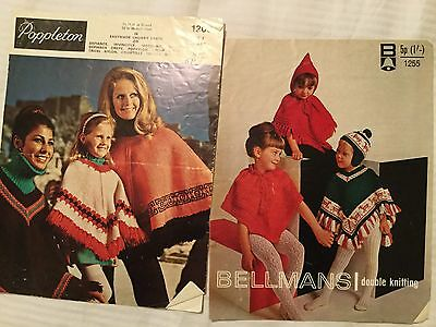 Knitting Pattern For Ponchos/capes