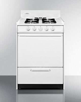 Summit Apartment Size Gas Oven, WNM6107