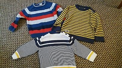 3 boys jumpers bundle 18-24 *NEXT*