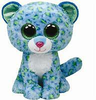 Beanie Boo Leona the blue leopard - Kids Toy - Presents and Gifts for Children