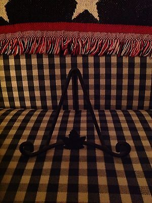 Longaberger Wrought Iron Small Tabletop Easel