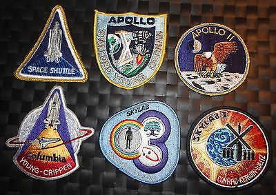 Lot of space travel patches Apollo-Skylab etc.