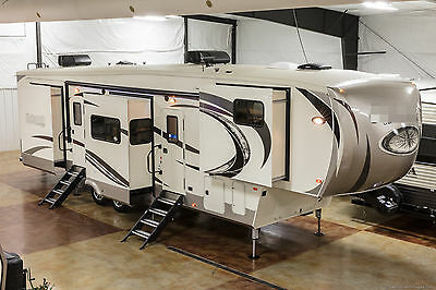 New 2017 Compass 386FKC Front Kitchen Luxury 5 Slide Out 5th Fifth Wheel Sleep 6