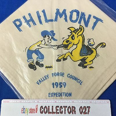 Boy Scout Neckerchief 1959 Valley Forge Council Philmont Expedition