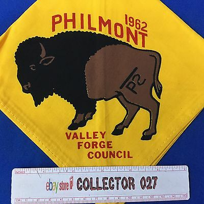 Boy Scout Neckerchief 1962 Philmont Valley Forge Council New In Bag