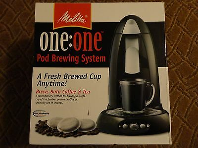 Melitta One: One Pod Brewing System Coffee & Ice Tea Maker - Mes2B