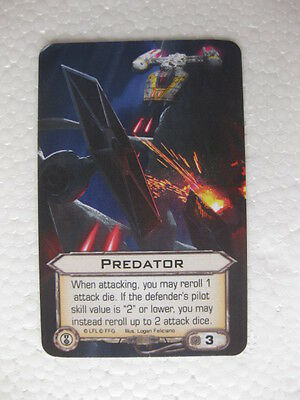 X-Wing Upgrade Card - Predator Alt Art