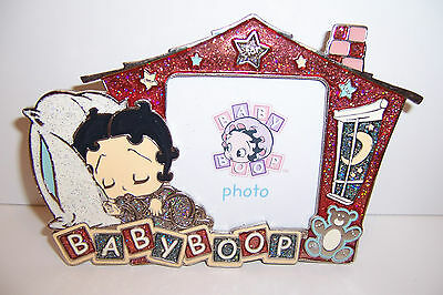 Licensed BABY BETTY BOOP Bedtime Nightime Sparkly METAL PHOTO PICTURE FRAME NEW!