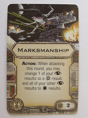 X-Wing Upgrade Card - Marksmanship