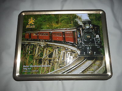 """MAC""""S BUTTER SHORTBREAD BISCUIT TIN  '' CLIMAX TRAIN '' 2nd Edition"""