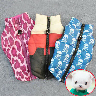 Pet Winter Coat Jacket Dog Cat Clothes Apparel Puppy Clothing Supplies Costume