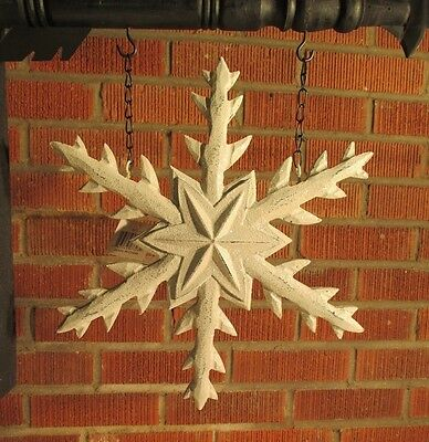 """SNOWFLAKE"" Replacement Sign - Resin Sign for Country Arrow Holders"