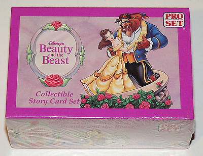 Disney Beauty and the Beast. Factory sealed boxed set.