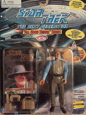 Star Trek The Next Generation Retired Jean-Luc Picard Figure All Good Things TNG