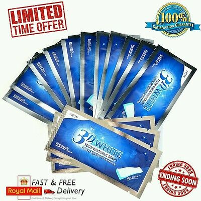 Mr BLANC Teeth Whitening Strips 14 sachets/28 strips 2 weeks supply RRP £24.99