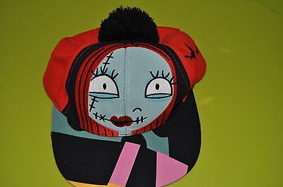 """New Authentic Disney Parks Nightmare Before Christmas """" Sally """"  Hat Cap YOUTH"""