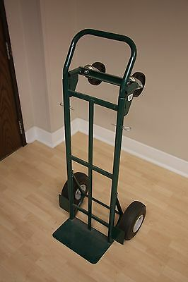 Heavy Duty Dolly/Hand Truck with Inflatable Tires/Wheels