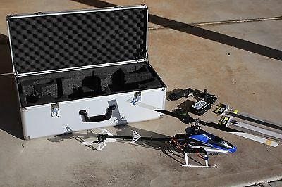 Blade 450x - Hard Case - Spares - Battery - Working