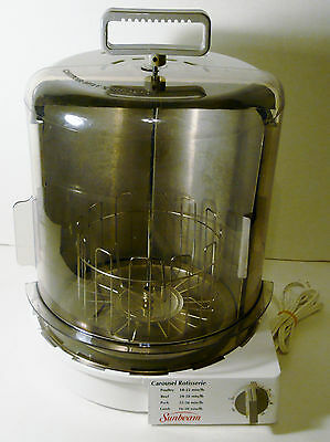 Sunbeam Upright Smokeless Carousel Rotisserie Oven 4780
