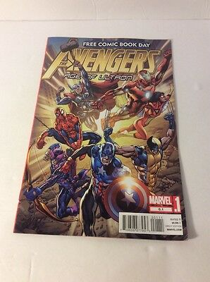 Marvel's The Avengers Age Of Ultron 2012 Free Comic Book Day