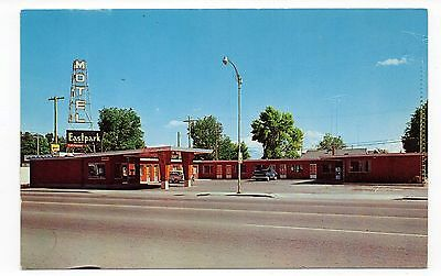 East Park Motel, Burley Idaho, Vintage Postcard, May